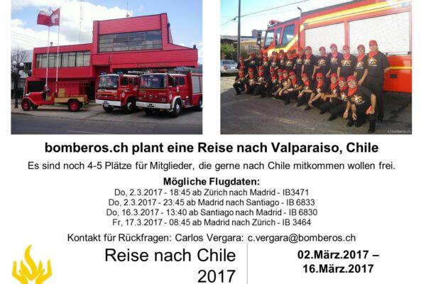reise nach chile 2017
